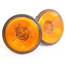 Mazda MX5 (Mk1/2/3) - Side repeater / indicator - pair (orange) - fits 1989-2015