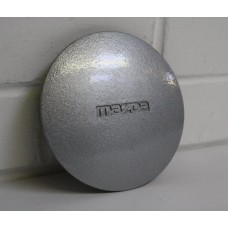 Mazda MX5 (Mk1) - Centre cap (Daisy wheel) - 'MAZDA' text - silver (single) - fits 1989-1998