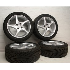 "Mazda MX5 (Mk1/2/2.5) - Wheels with tyres (Sport) - 6.5j x 16"" - fits 1989-2005"